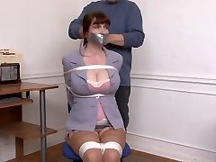 Kristine Chairtied and Fondled
