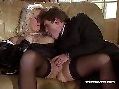 Silvia Saint Fucks the Lawyer and Jerks His Jizm