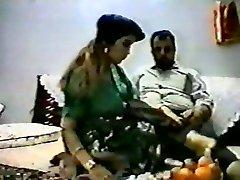 Vintage arab amateur duo make rock hard homemad