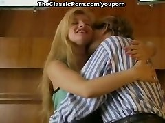 Classic porno on a boat with the blond