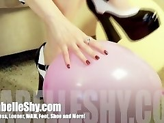 Dolly High-heeled Shoes and Balloon Squeals