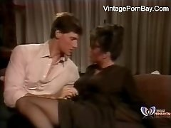 Stepson Seduced And Torn Up Super-fucking-hot Mom With Her Stockings - www.vintagepornbay.com