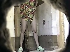 Russian Public Restroom Spy Webcam - Retro Voyeur 01