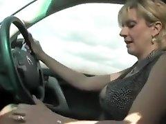 Horny Blonde, Retro xxx video