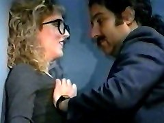 Holly Ryder Vintage Secretary Big Pleasure Button Licked By Ron
