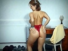 TRAIN - petite busty phat tits strip dance tease