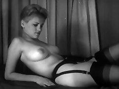 Ann Peters B&W 1960's Stag Film