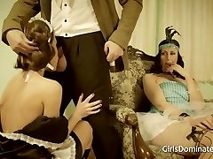 Classic maid humiliation