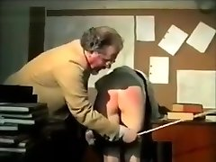 Two horny schoolgirls spanked