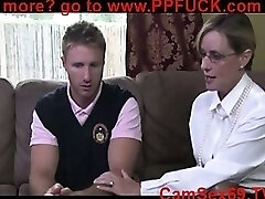 mother teaching boy about sex