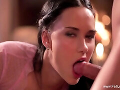 Beautiful Lady Sucking Off Her Man To Make An Early Cum With Victoria Delicious