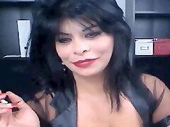 Amazing homemade Webcams, Smoking xxx vignette