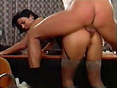 Manager fucks his hot secretary