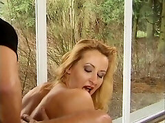German Student and Teacher fucked by 2 boys