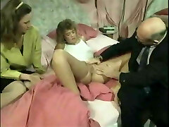 Antique German family - the doctor visit