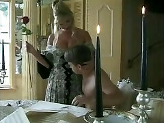 Hot MILF With Fat Pussy Draped Boy