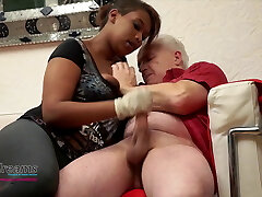 Cocco's Ruined Ejaculation Handjob With Latex Gloves