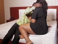 Jerry Rides His African BBW Cousin'_s Soft Coochie - NOLLYPORN