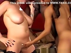 Huge Black Dick Makes Duo Of Ebony Females Super Excited
