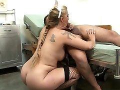 Finest pornstar in incredible blonde, blowjob sex clamp