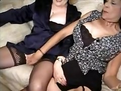 Group sex with grannies - 4