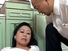 Aged Japanese mummy Craves sonnie's ally Dick (Censored)