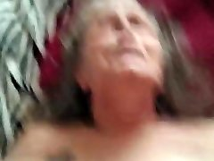 Grannie on her back getting fucked PT1