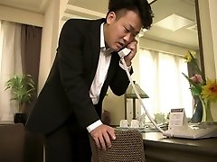 Spectacular Japanese chick in Exotic Big Hooters, Fetish JAV scene