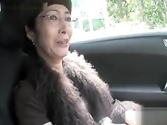 Super-hot Asian granny suck chisel and fuck