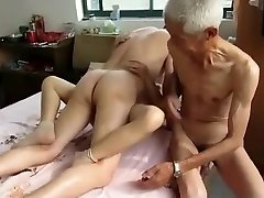 Outstanding Homemade video with Threesome, Grannies episodes