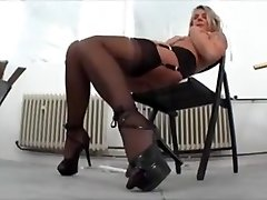 Mature Mega-bitch Shows Her Astounding Nice Pussy by TROC