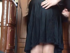 Cum my mom skirt