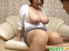 Busty asian hottie Reiko