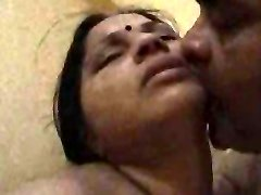 Desi Aunty rigid poked by her boss