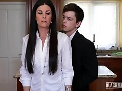 India Summer Blackmailed Milf Pays Spouses Debt Blackmailed
