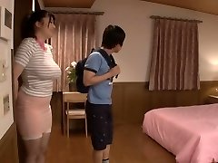 Exotic Japanese model in Horny Puffies, Threesome JAV video