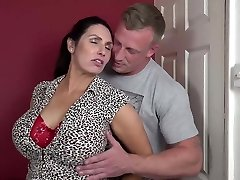 Booty busty mommy suck and pound lucky son