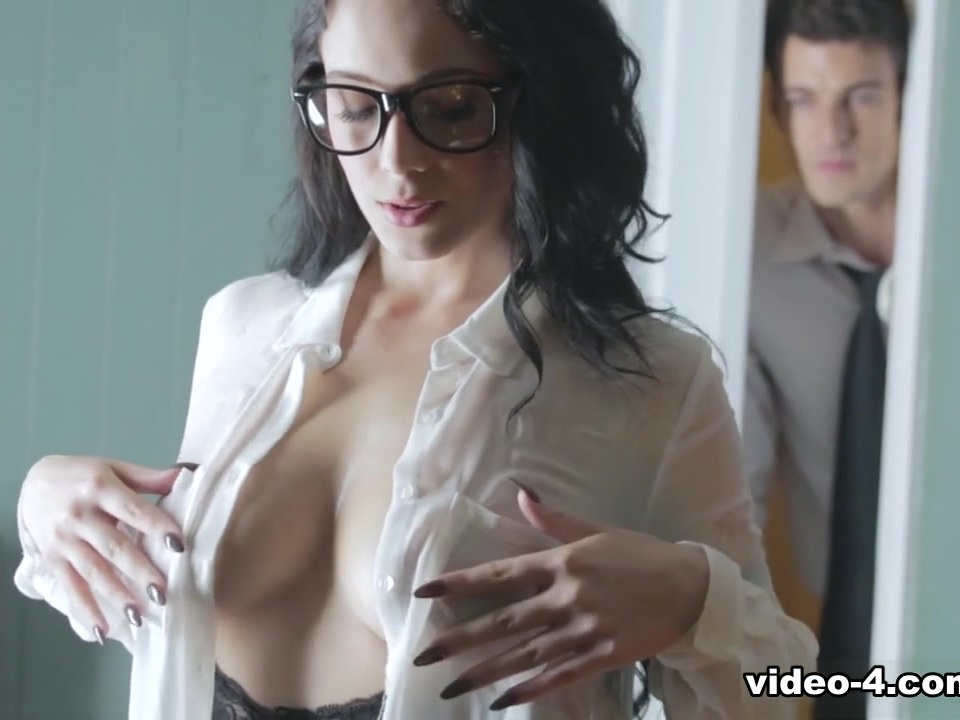 Exotic pornstar Noelle Easton in Kinky Brunette, Secretary xxx pin