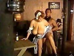 Maid huge breasts