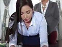 TeenCurves - Keisha Grey Pummels Submissive Assistant Karlee Grey