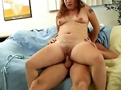 Whorish Fat Chubby Teen Ex GF loved sucking and fucking-1