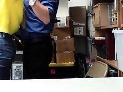 ShopLyfter - LP Officer Pounds Chesty Blonde Teen