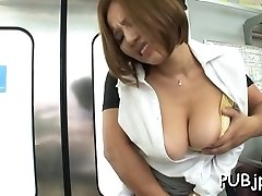 Luxurious public sex for innocent looking chick who loves dick