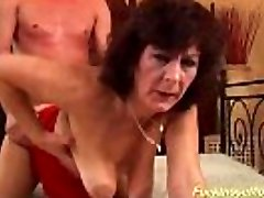 busty hairy mom aggressive rough fucked