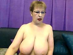 mila sizzling big boobs granny