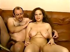 FRENCH Round Huge-boobed AUDITION - HARDCORE AMATEUR  -JB$R