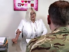 AgedLovE Lacey Starr Smashing Hard with Soldier