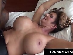 Voluptuous Vixen Deauxma Plows & Sucks On A Xxl Black Cock!
