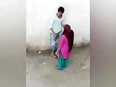 Indian Lover Romance Outdoor, Desi Dame Boy Romance, village