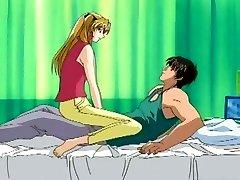 Anime chicks getting pleasured